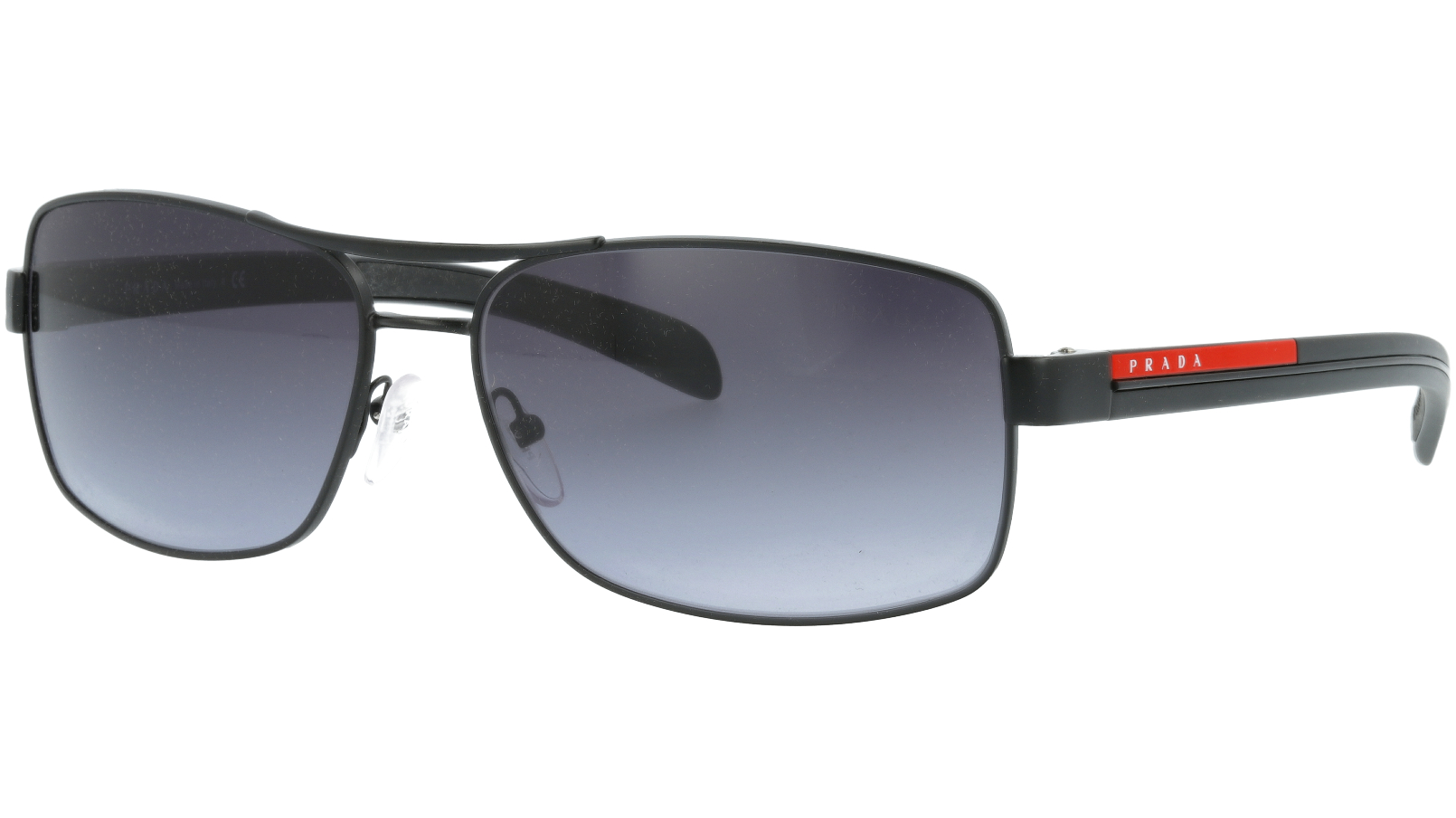 Prada Linea Rossa PS50LS 1BO3M1 62 Black Sunglasses
