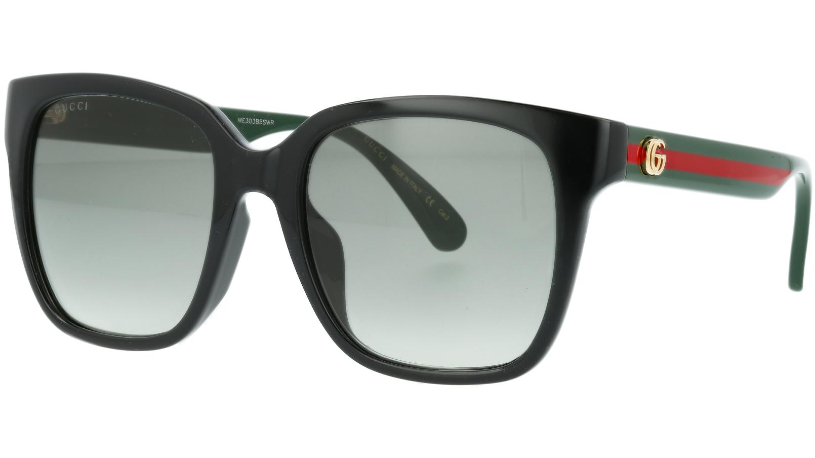 Gucci GG0715SA 001 53 Black Sunglasses