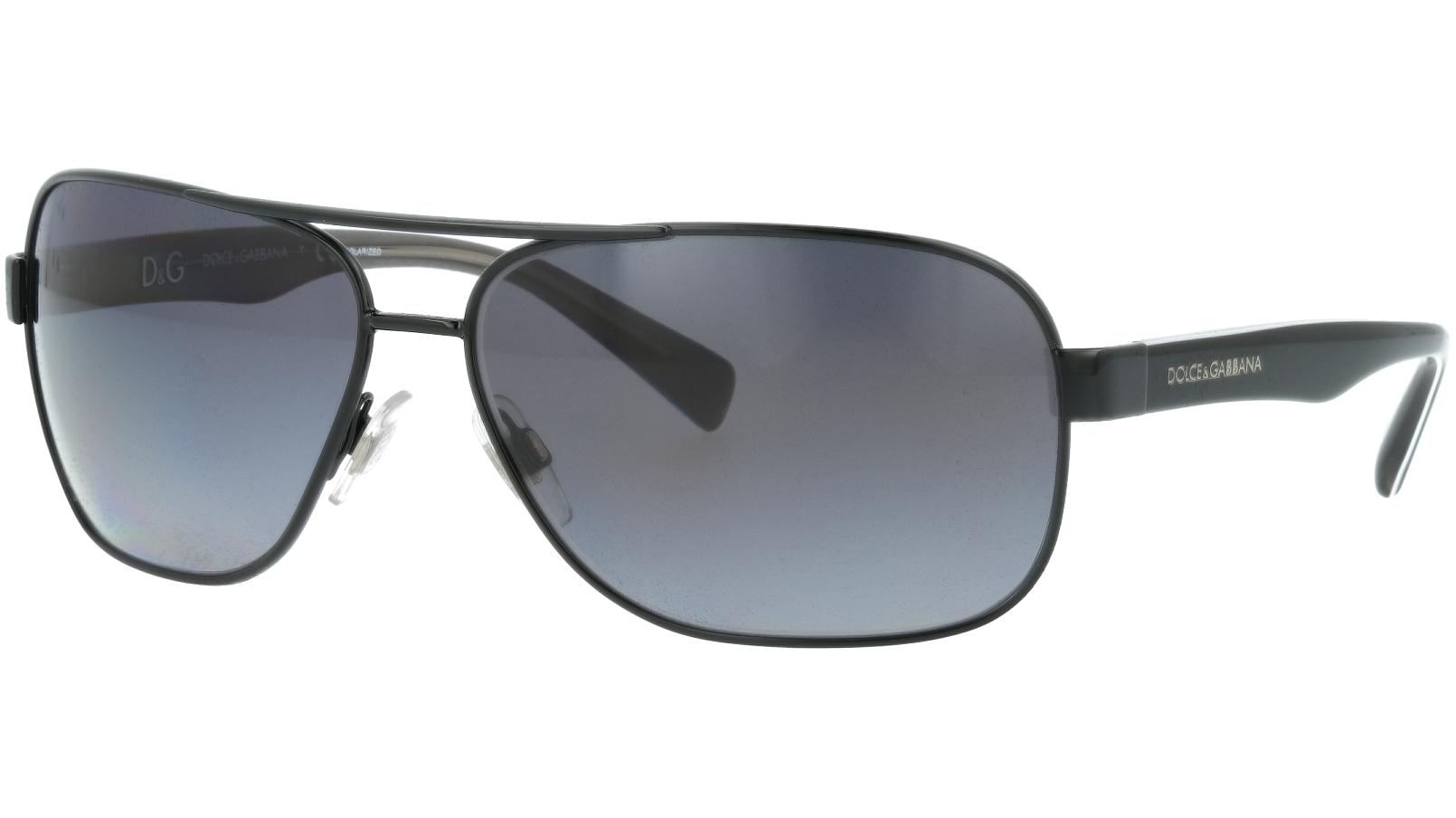 Dolce & Gabbana DG2120P 1169T3 64 Black Sunglasses