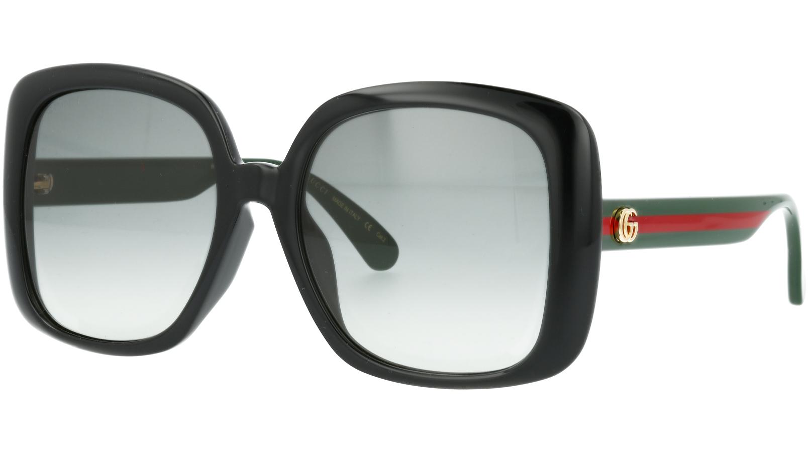 Gucci GG0714SA 001 56 Black Sunglasses