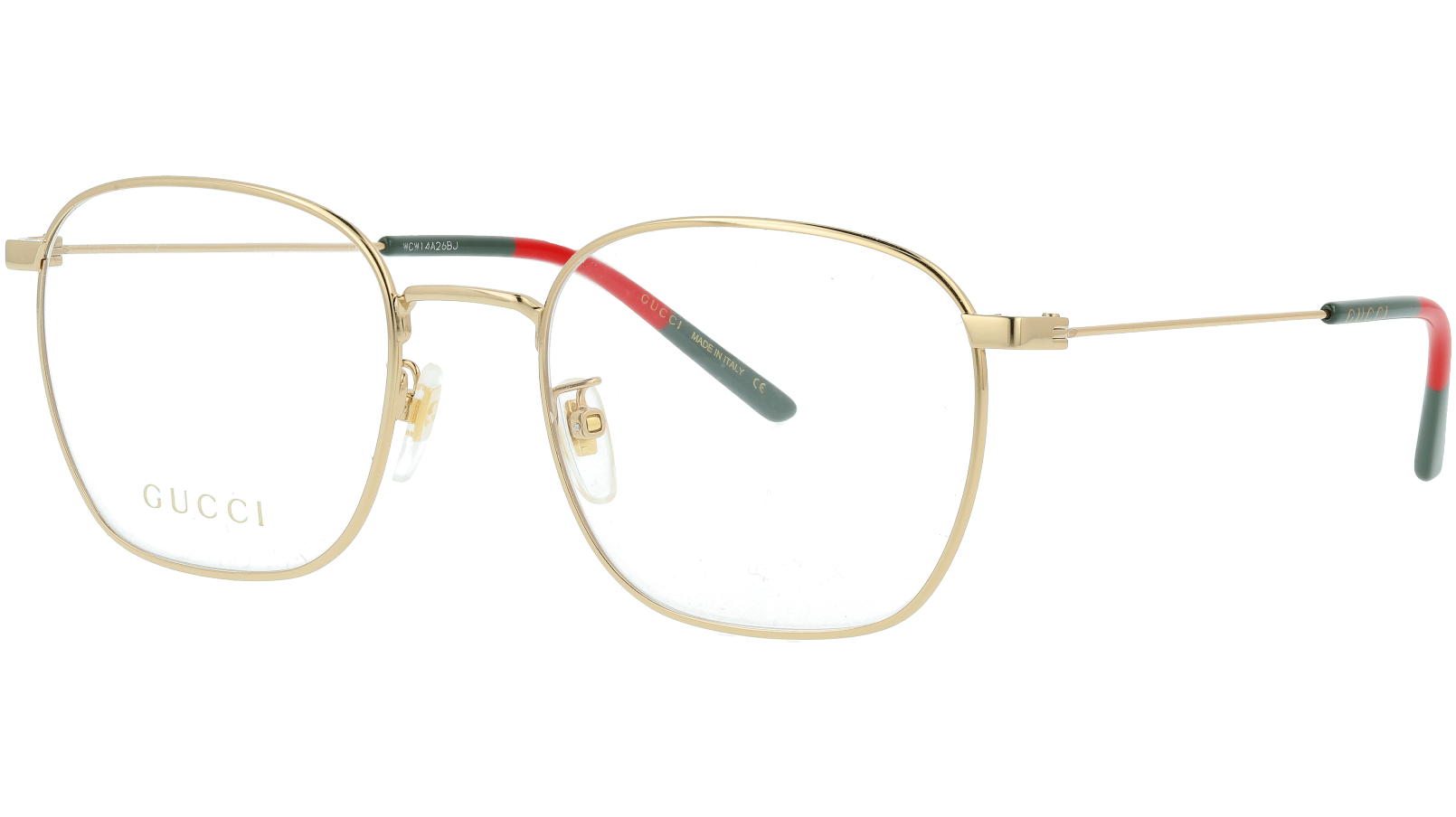 Gucci GG0681O 001 54 Gold Square Glasses