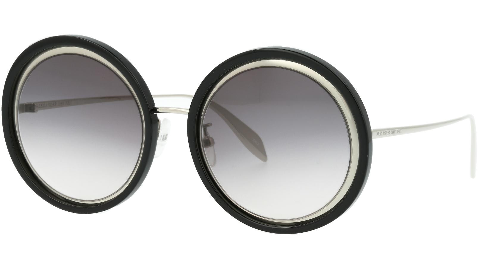 ALEXANDER MCQUEEN AM0150S 002 53 SILVER Sunglasses