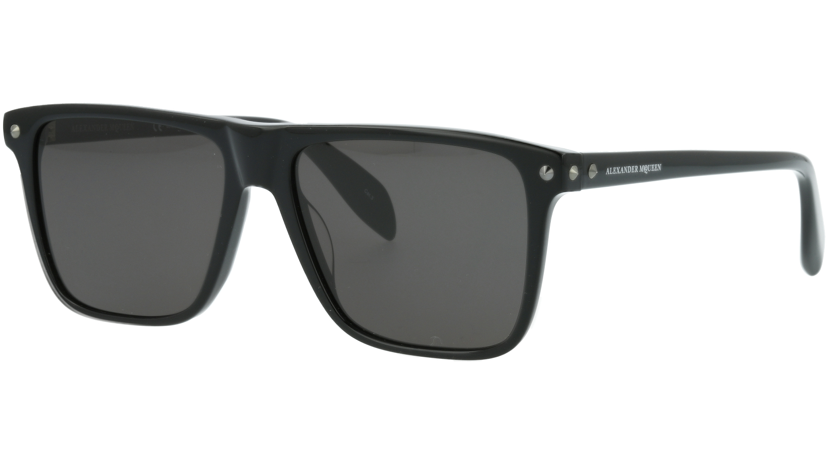 ALEXANDER MCQUEEN AM0129S 001 56 BLACK Sunglasses