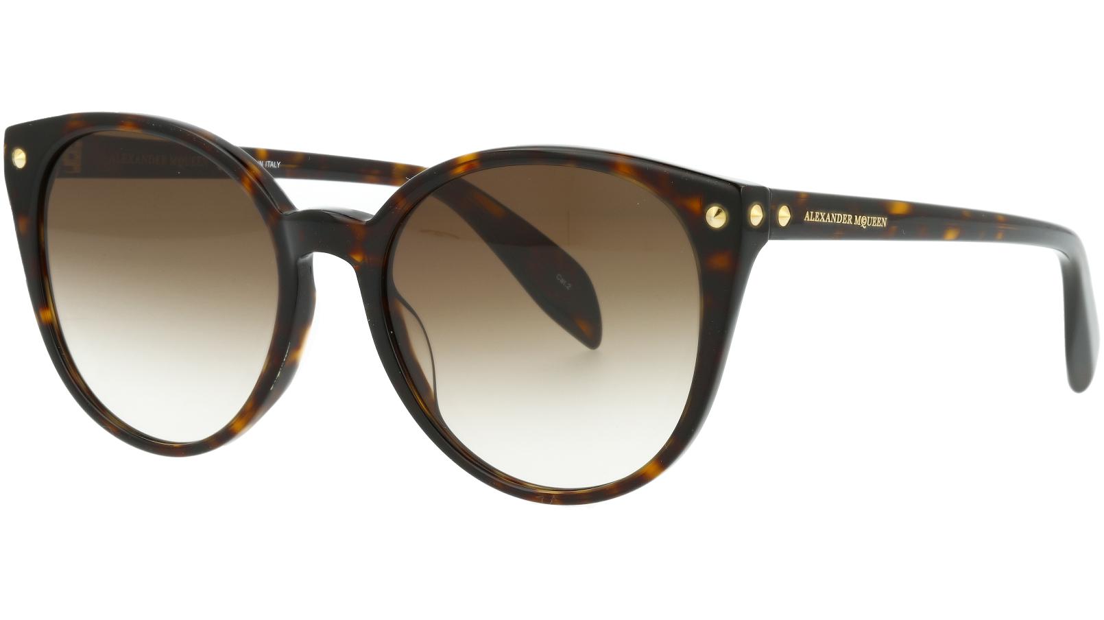 ALEXANDER MCQUEEN AM0130S 002 55 AVANA Sunglasses
