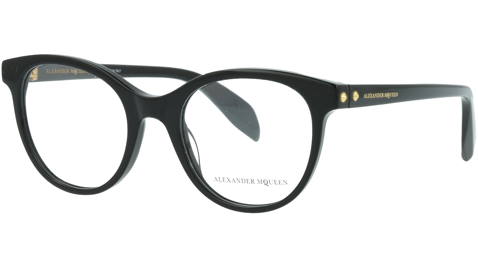 ALEXANDER MCQUEEN AM0131O 001 49 BLACK Glasses