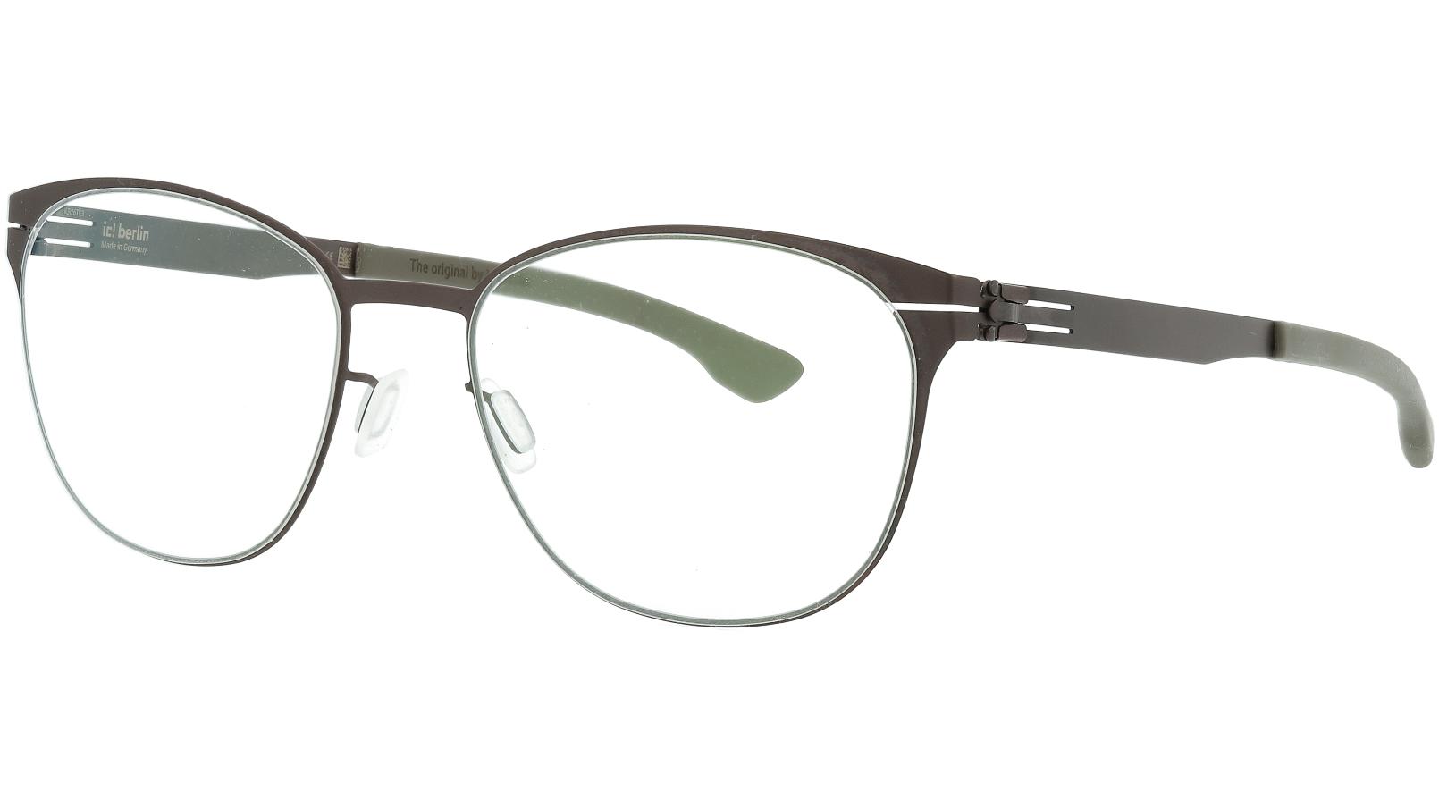 ic! berlin Ludmila L Teak Warm Glasses