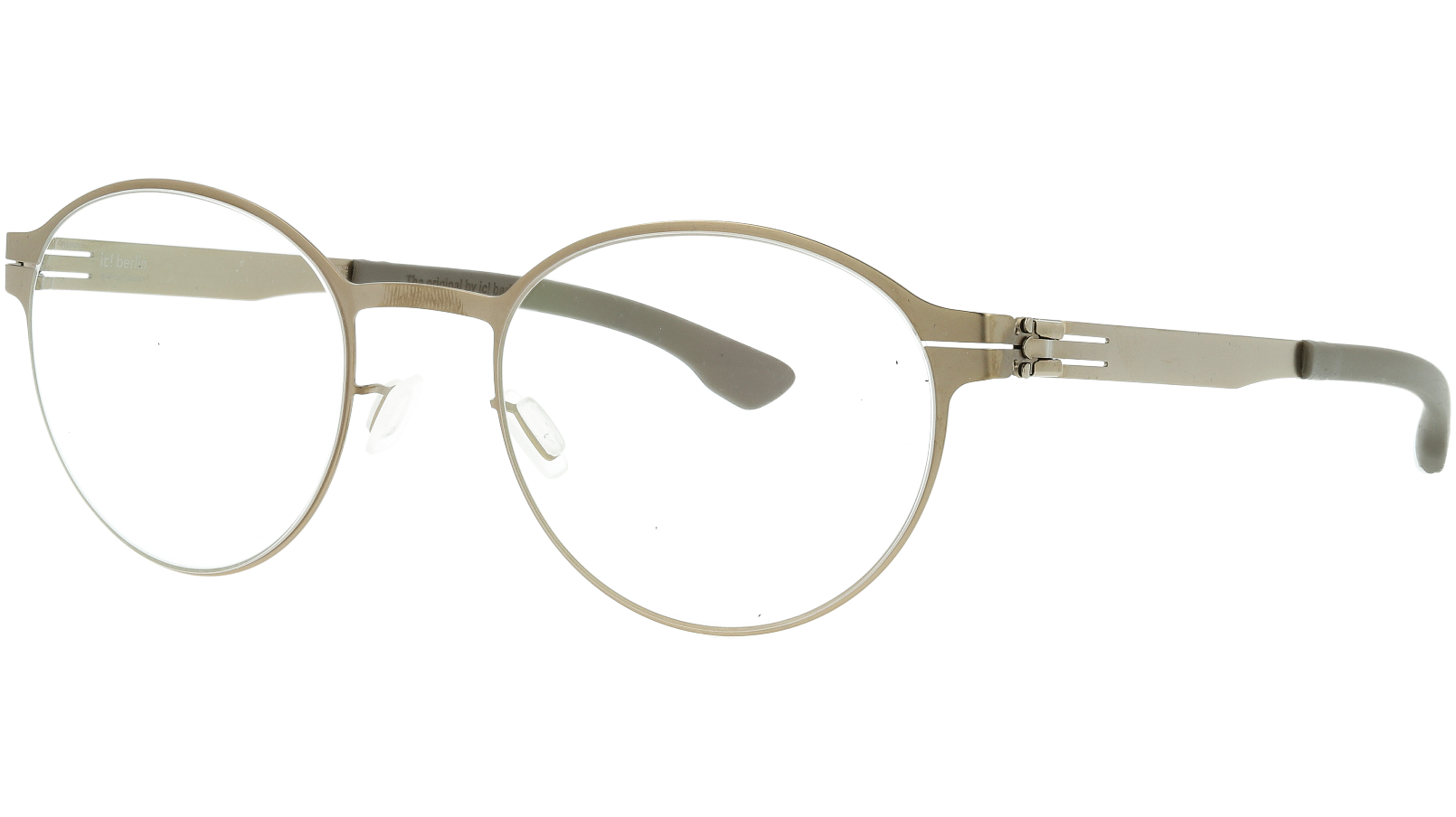 ic! berlin Maik S Bronze Warm Glasses Frame
