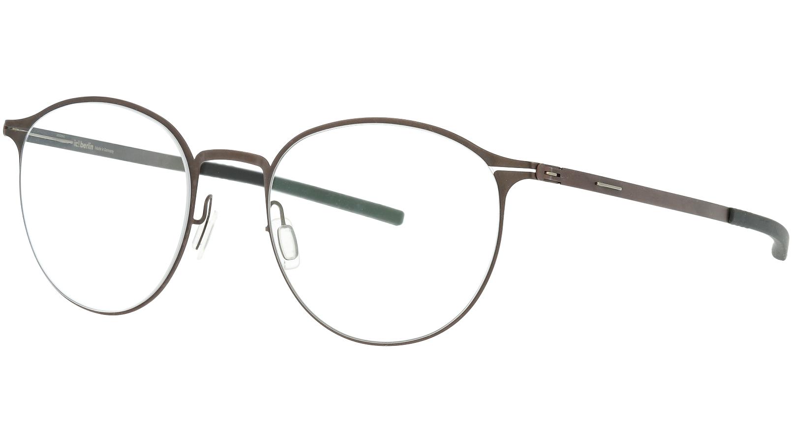 ic! berlin Amihan SE Teak 50 Black Glasses