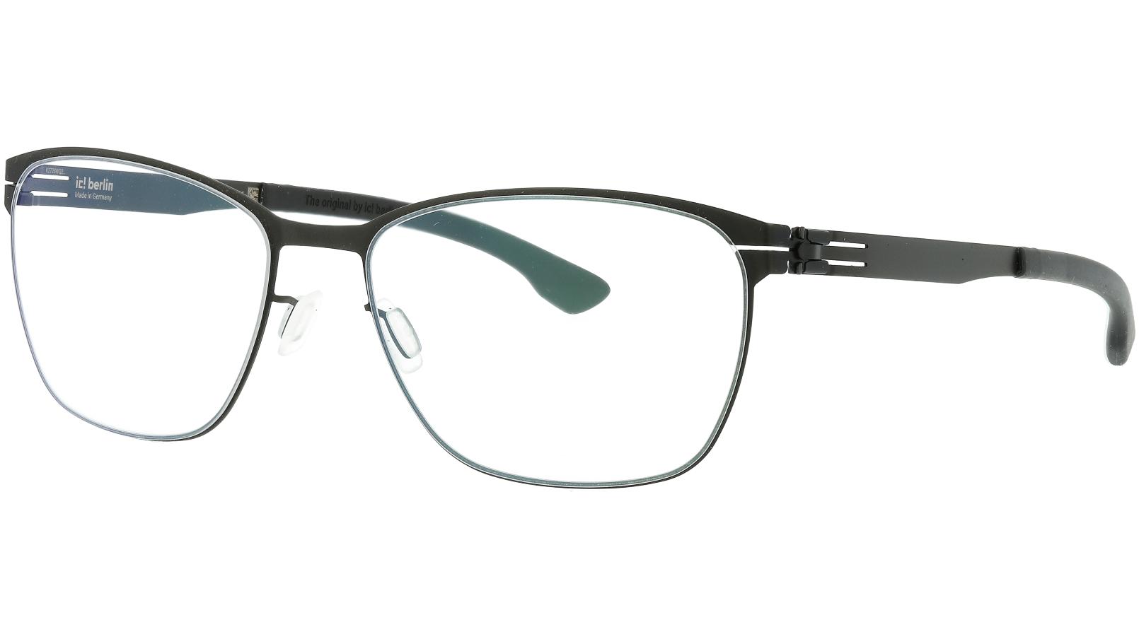 ic! berlin Kristin V Black Glasses Frame