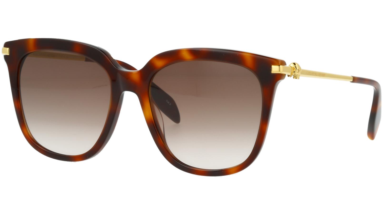 ALEXANDER MCQUEEN AM0107S 002 55 AVANA Sunglasses