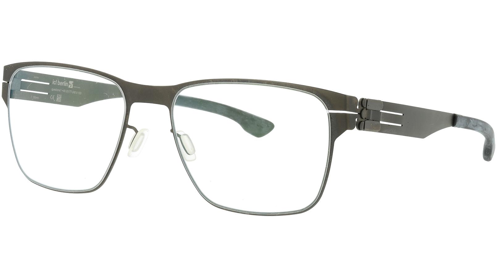 ic! berlin Hannes S Graphite Grey Glasses