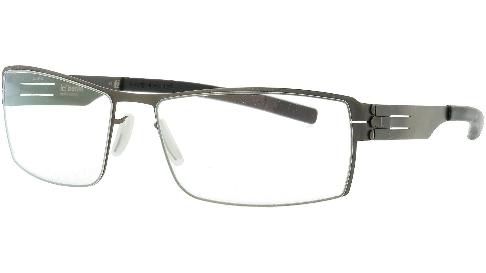 IC BERLIN! Nufenen Medium Graphite Grey Glasses