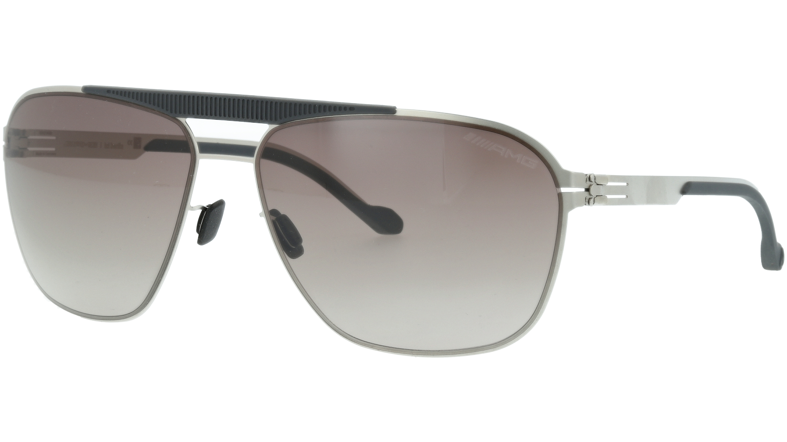 IC BERLIN! AMG 01 Lamelle Raceline Grey Sunglasses