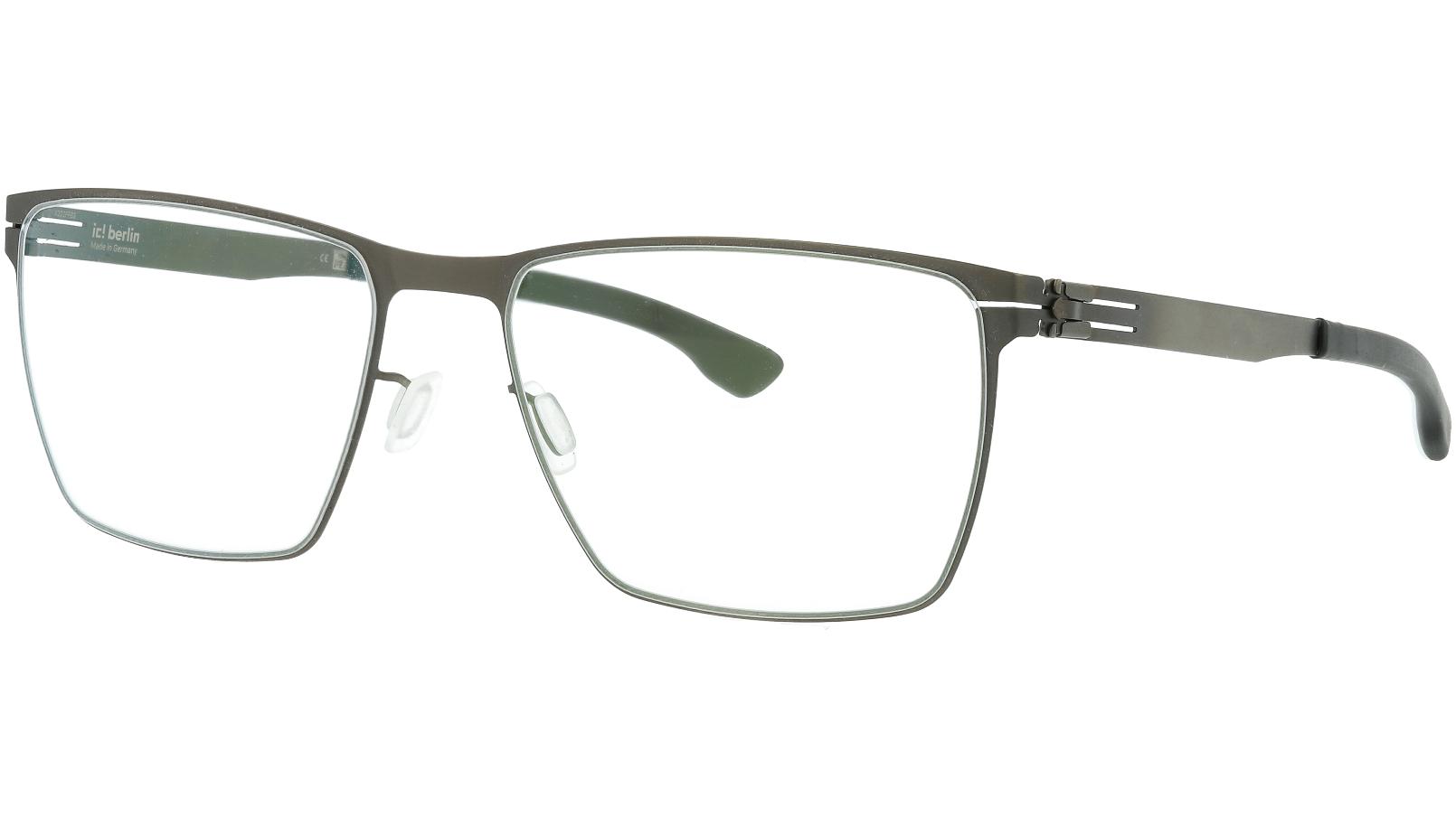 ic! berlin Thomas A Graphite Grey and Black Glasses