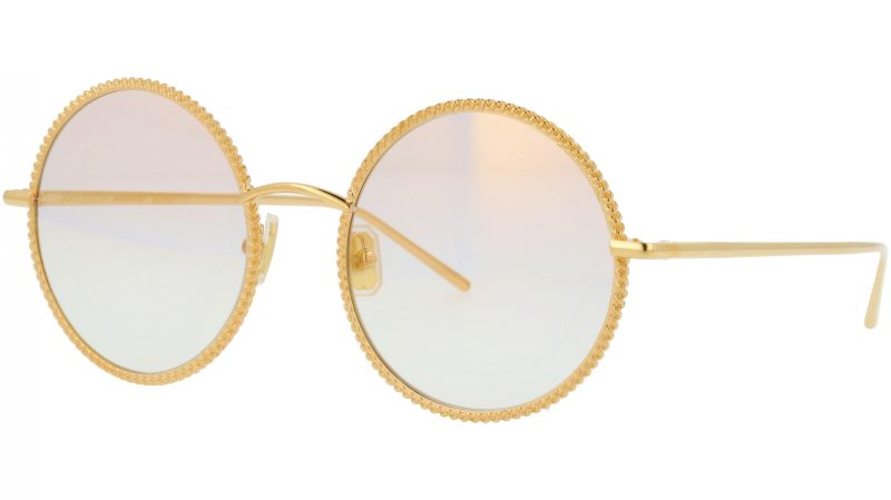 Boucheron BC0045S 004 54 Gold Sunglasses