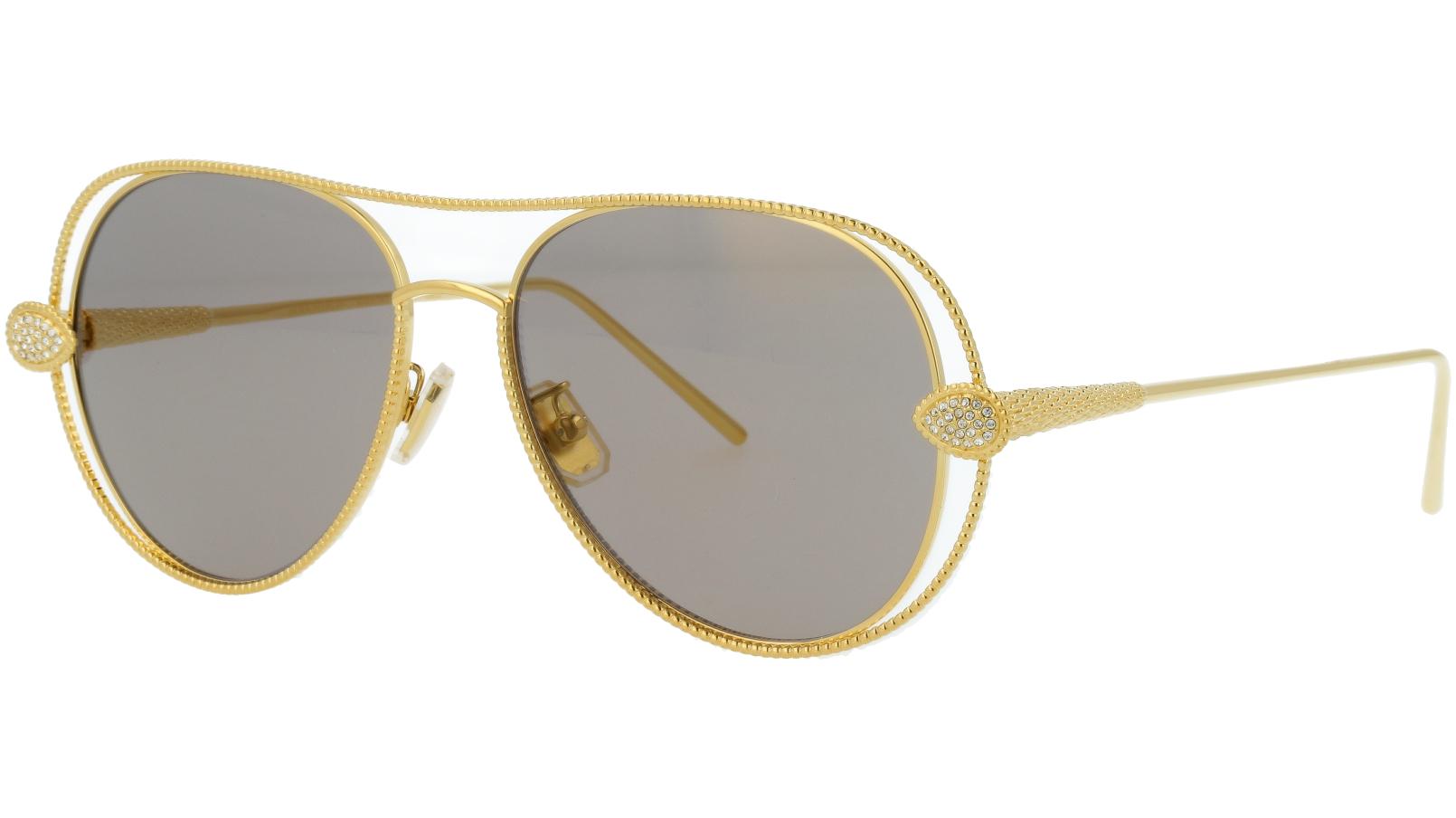 BOUCHERON BC0030S 001 55 GOLD Sunglasses