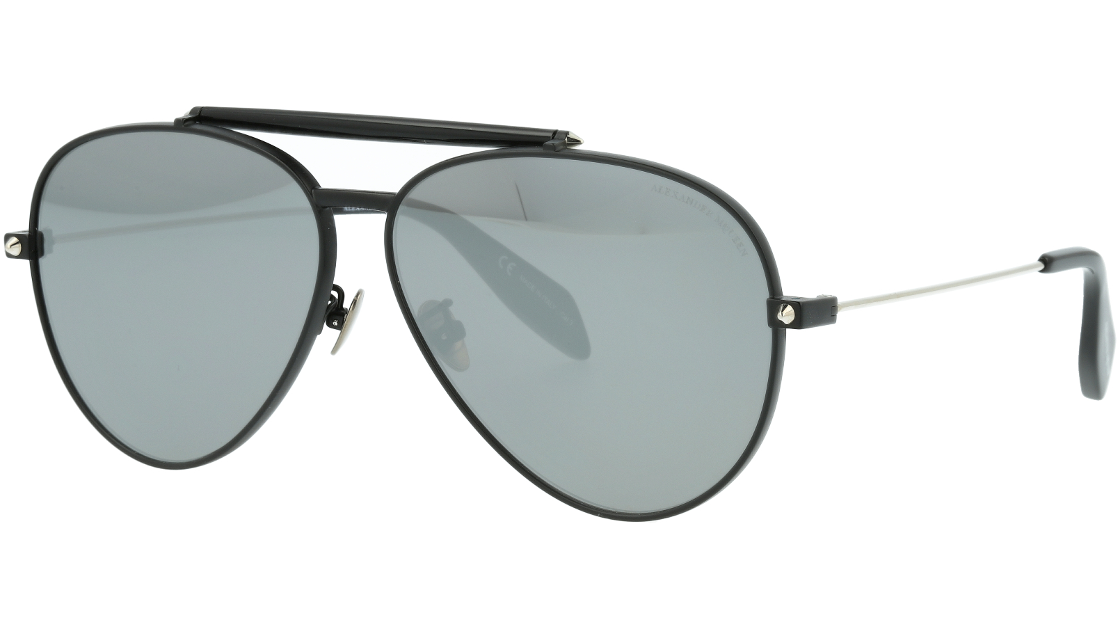 ALEXANDER MCQUEEN AM0057S 001 62 BLACK Sunglasses