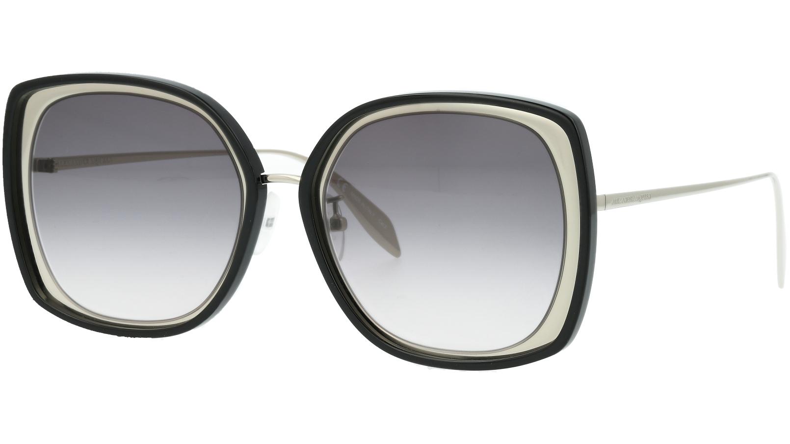 ALEXANDER MCQUEEN AM0151S 002 57 SILVER Sunglasses
