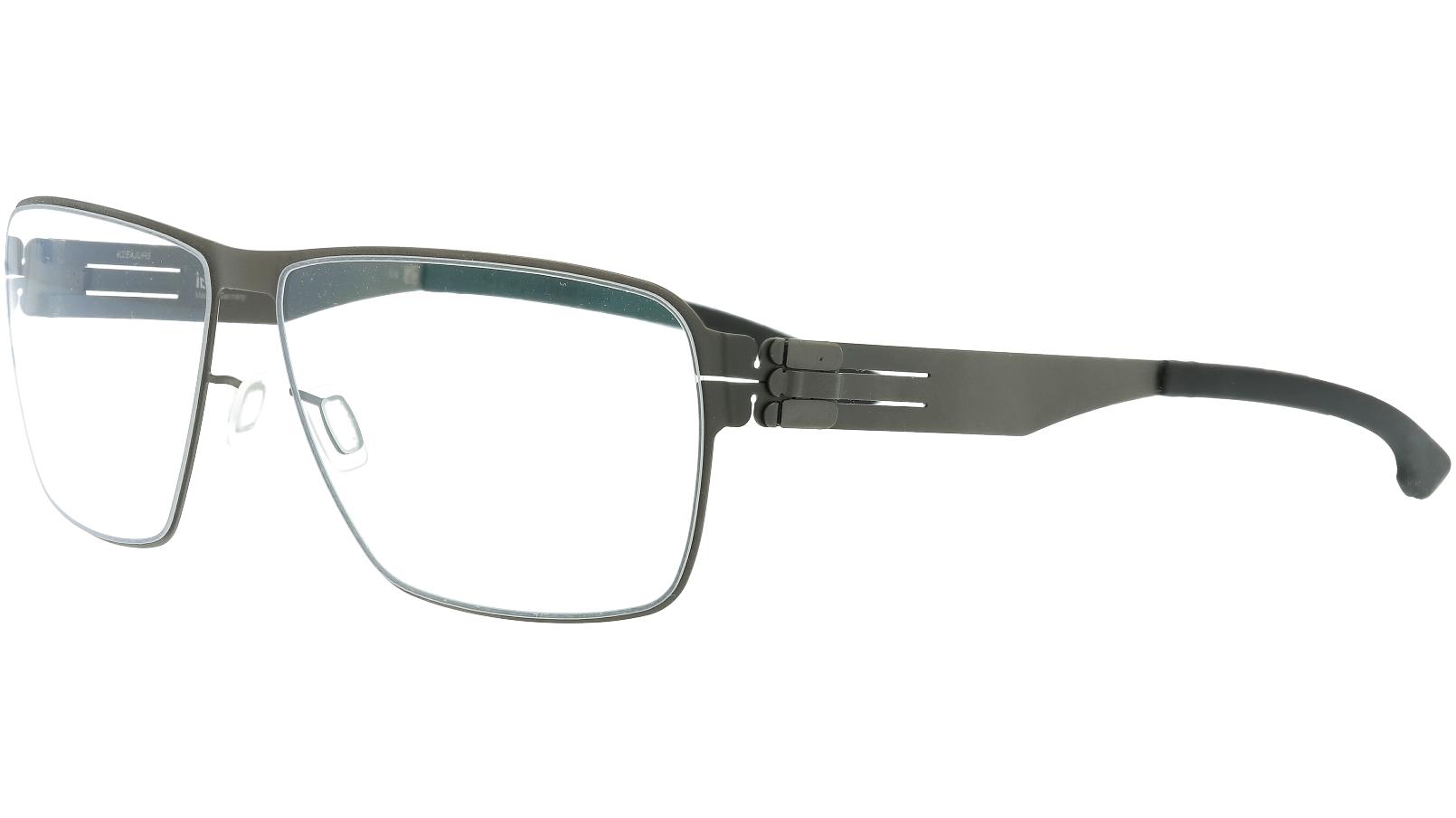 ic! berlin Thorsti S Graphite Grey and Black Glasses