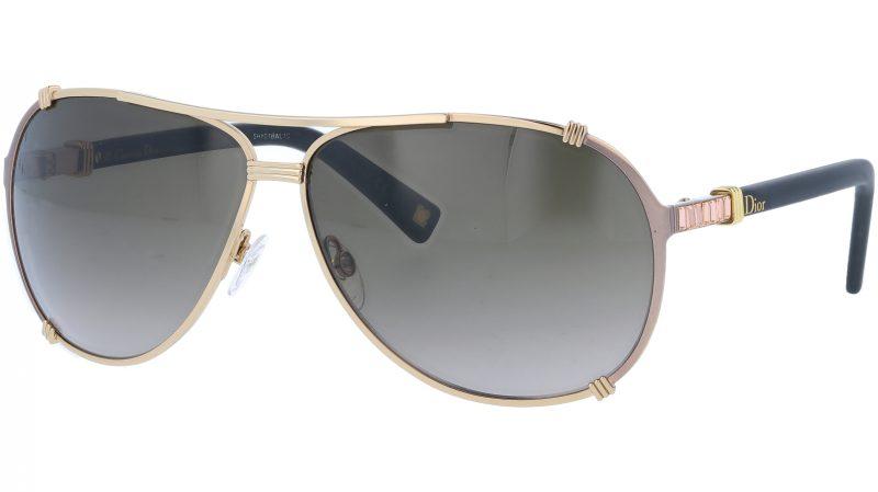 Dior CHICAGO2STR SUTHA 63 Gold Sunglasses