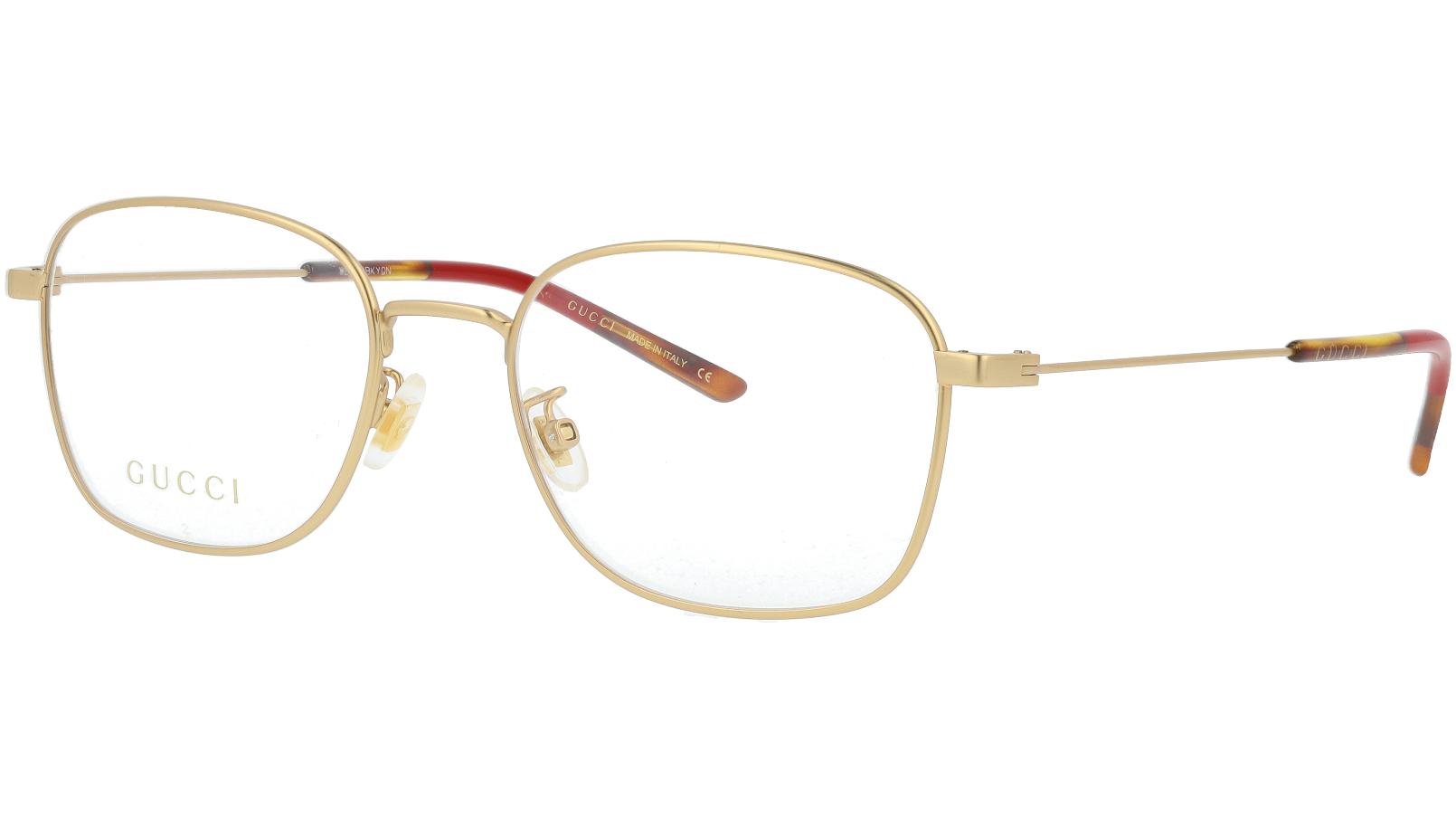 Gucci GG0685OA 003 53 Gold Glasses