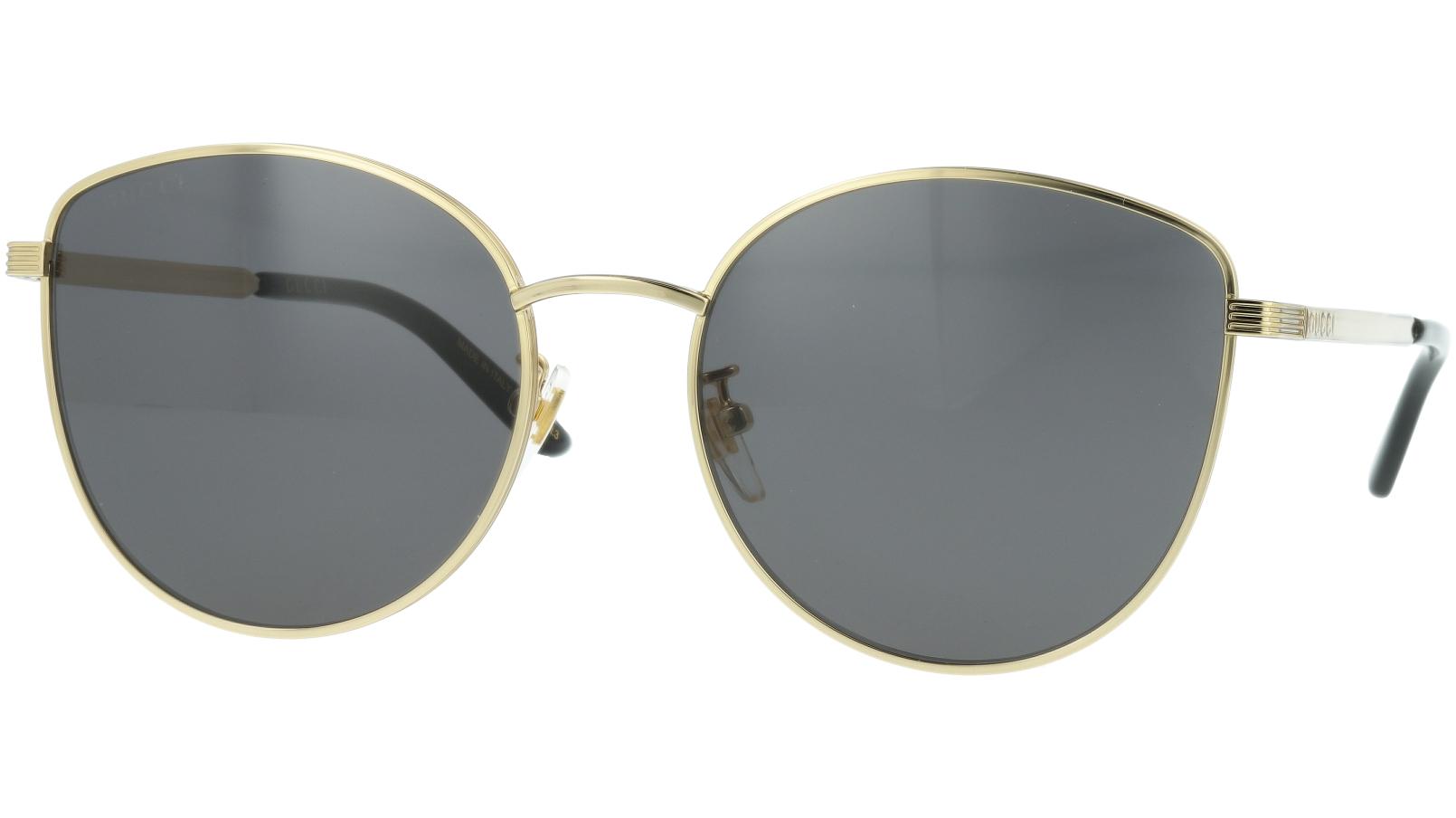 Gucci GG0807SA 001 58 Gold Sunglasses