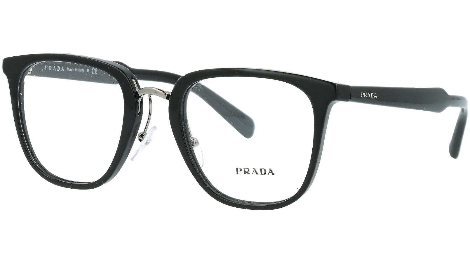PRADA PR10TV 1AB1O1 51 BLACK Glasses