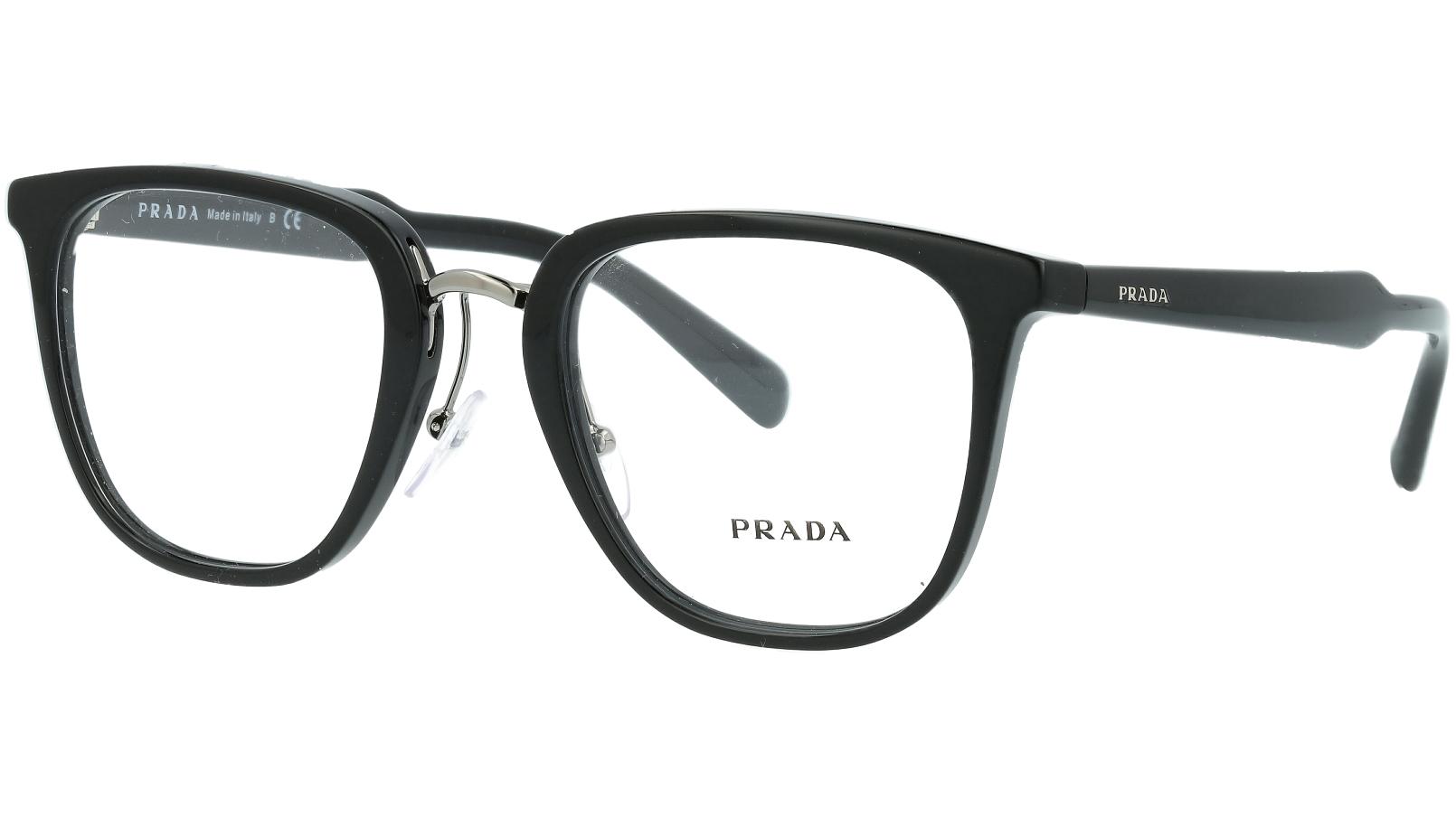 Prada PR10TV 1AB1O1 51 Black Glasses