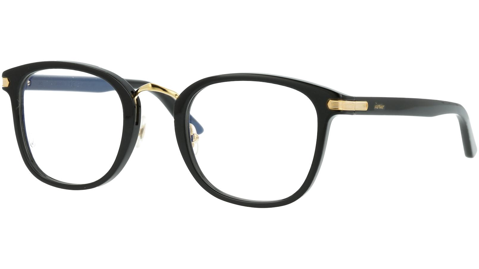 CARTIER CT0146O 001 49 BLACK Glasses