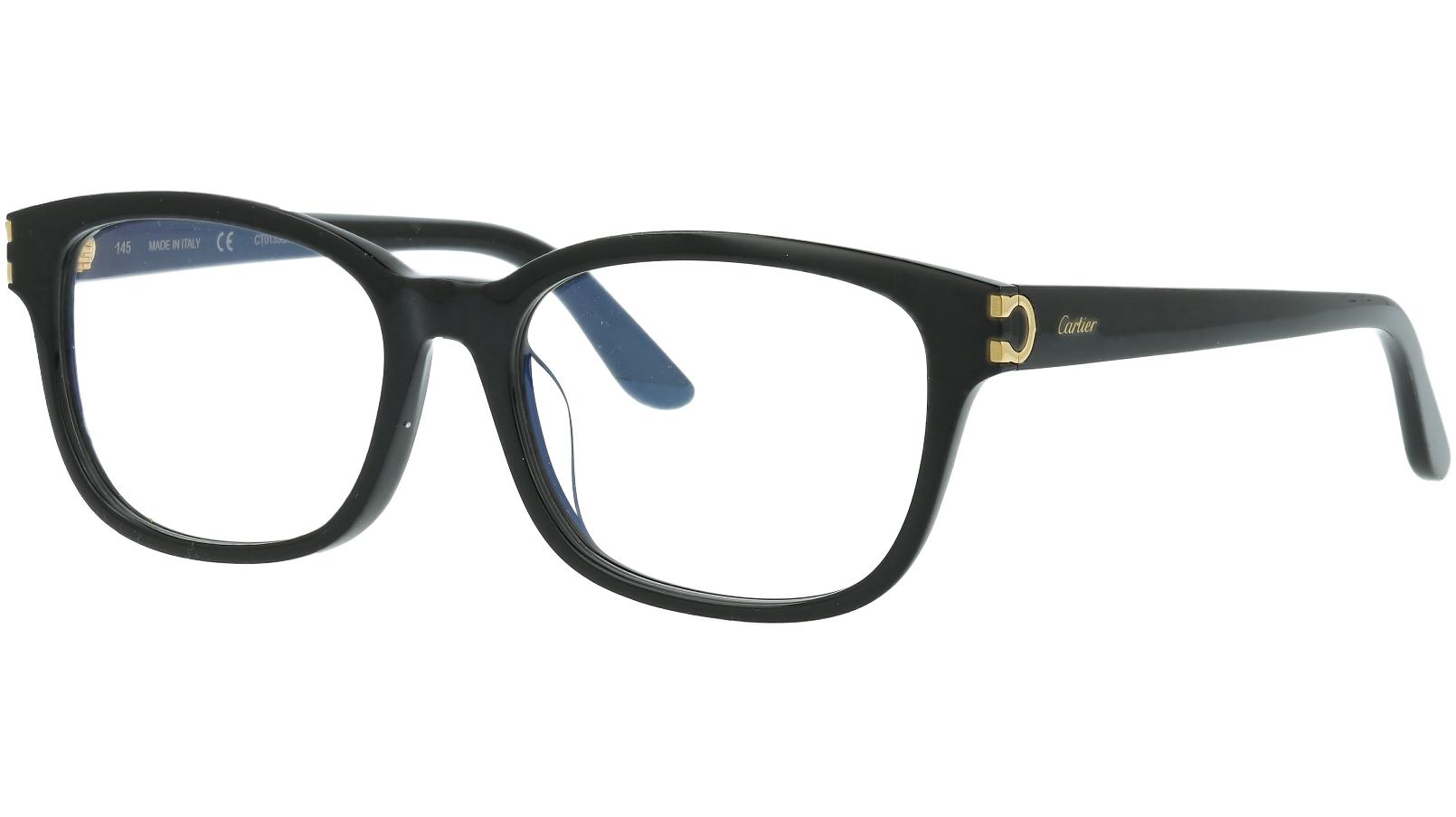 CARTIER CT0133OA 001 54 BLACK Glasses