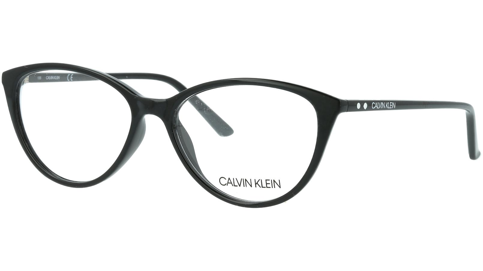 Calvin Klein CK18543 001 53 Black Glasses
