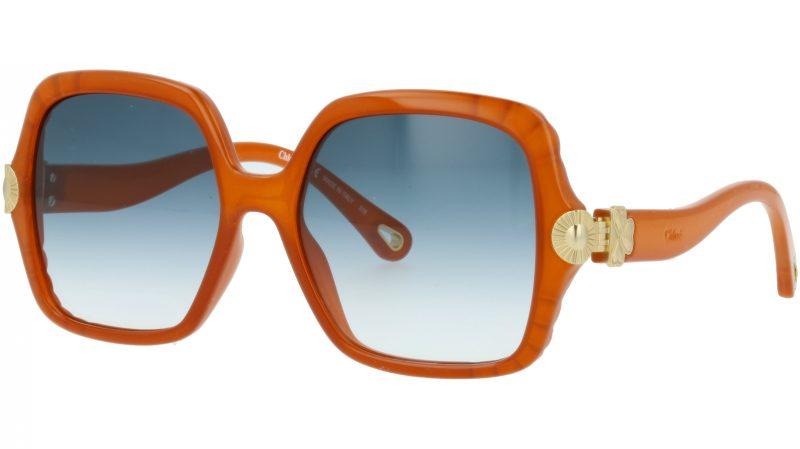 Chloé CE746S 204 55 Brick Square Sunglasses