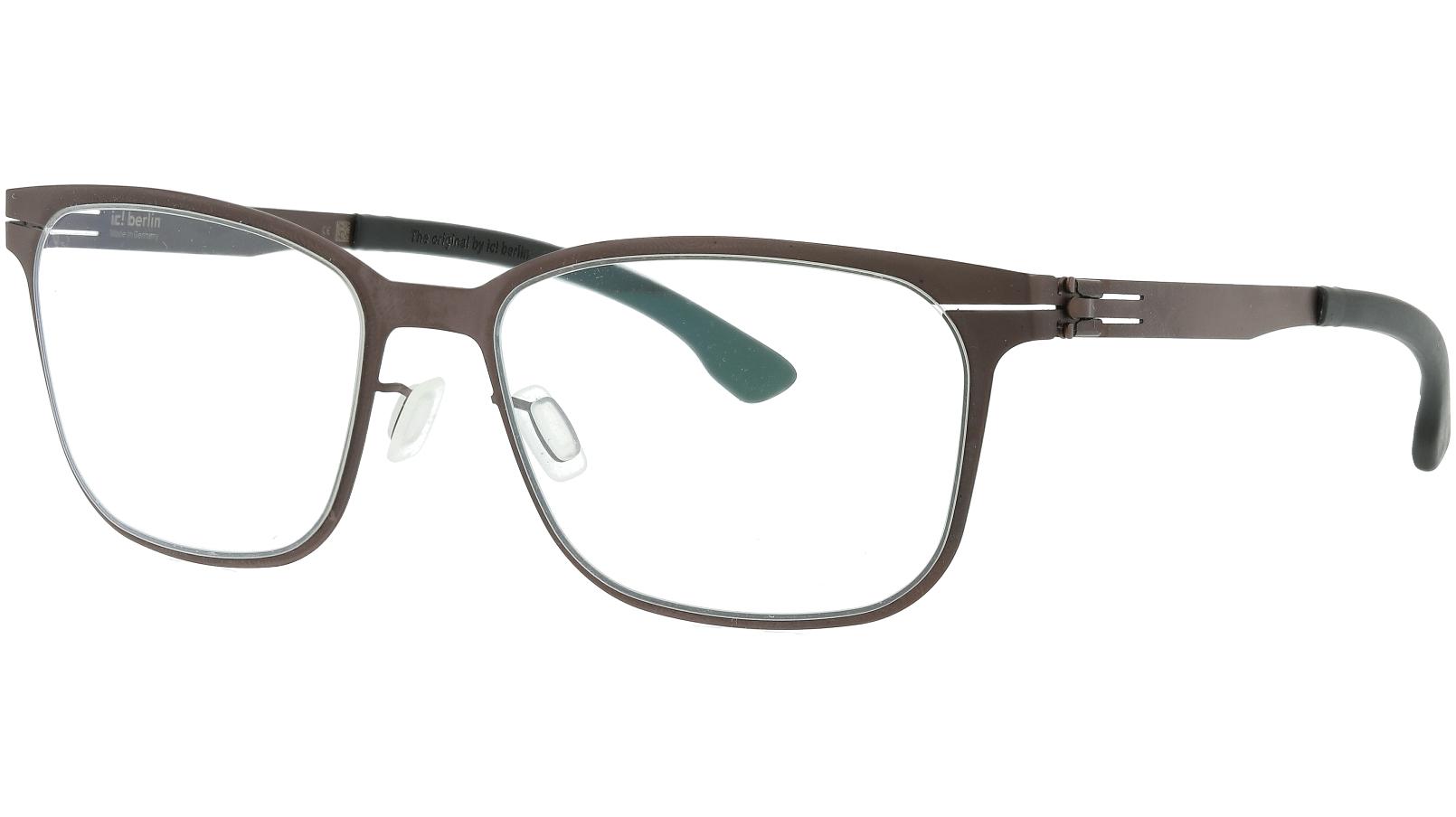 ic! berlin Karsten B. Teak and Black Donnerstag Glasses