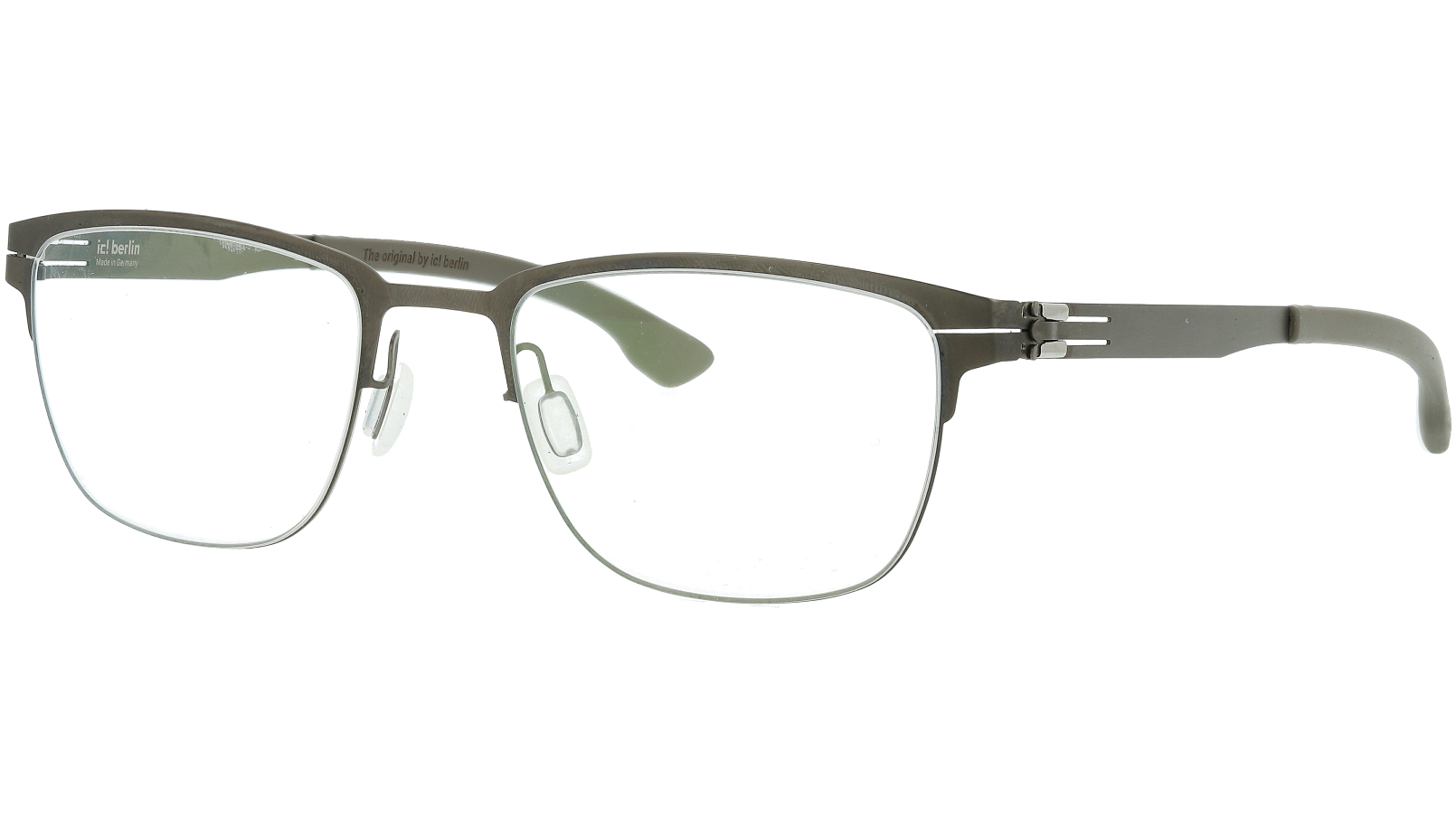 IC BERLIN! The Lone Wolf Graphite Grey Glasses