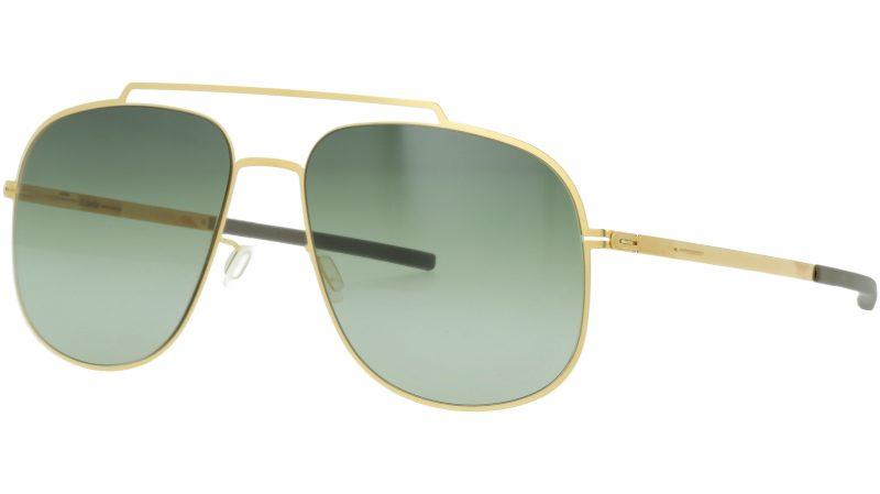 ic! berlin AVUS Matt Gold Grey Sunglasses