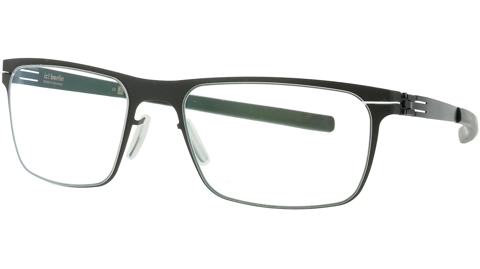 IC BERLIN! 135 Seekorso Black Glasses