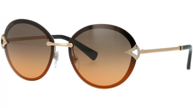 Bvlgari BV6101B 201418 61 ORANGE Sunglasses
