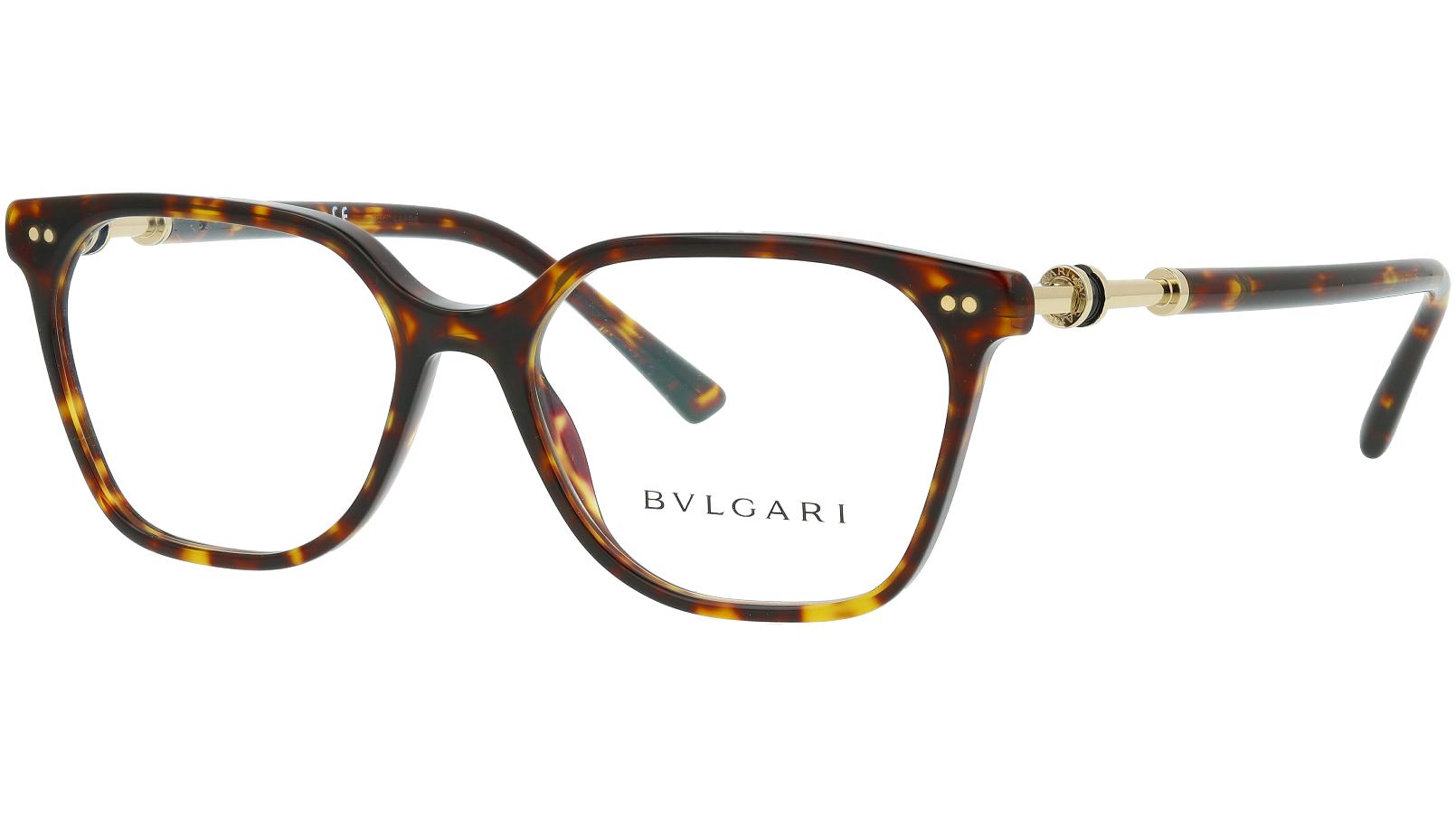 BVLGARI BV4178 504 53 HAVANA Glasses