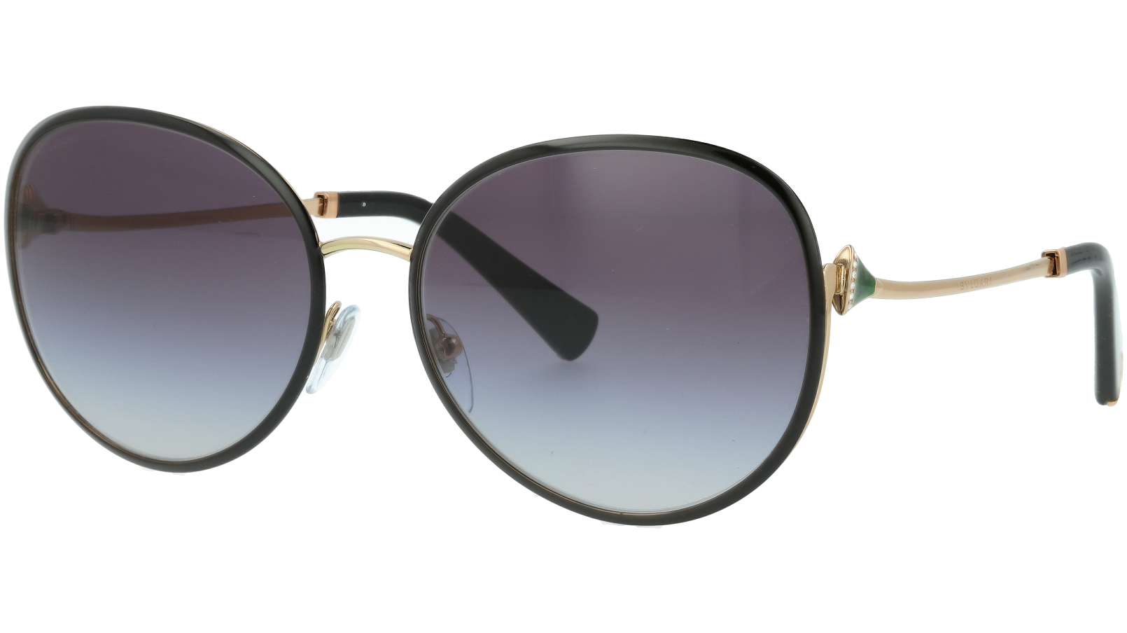 BVLGARI BV6106B 20338G 59 BLACK Sunglasses