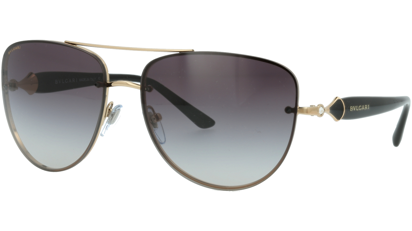 BVLGARI BV6086B 20148G 60 GREY Sunglasses