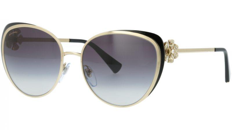 Bvlgari BV6092B 278/8G 57 Gold Sunglasses