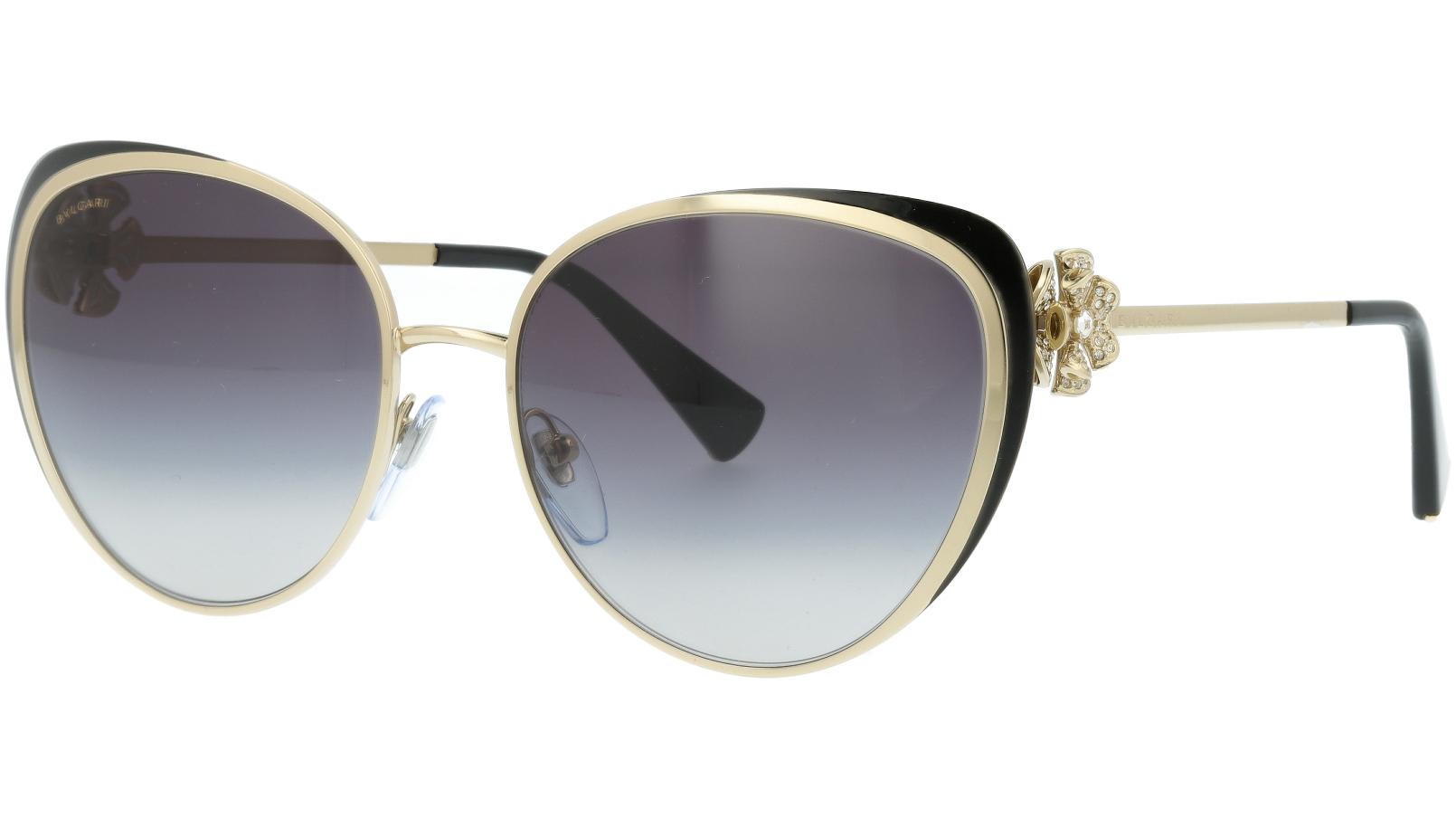 BVLGARI BV6092B 278/8G 57 GOLD Sunglasses