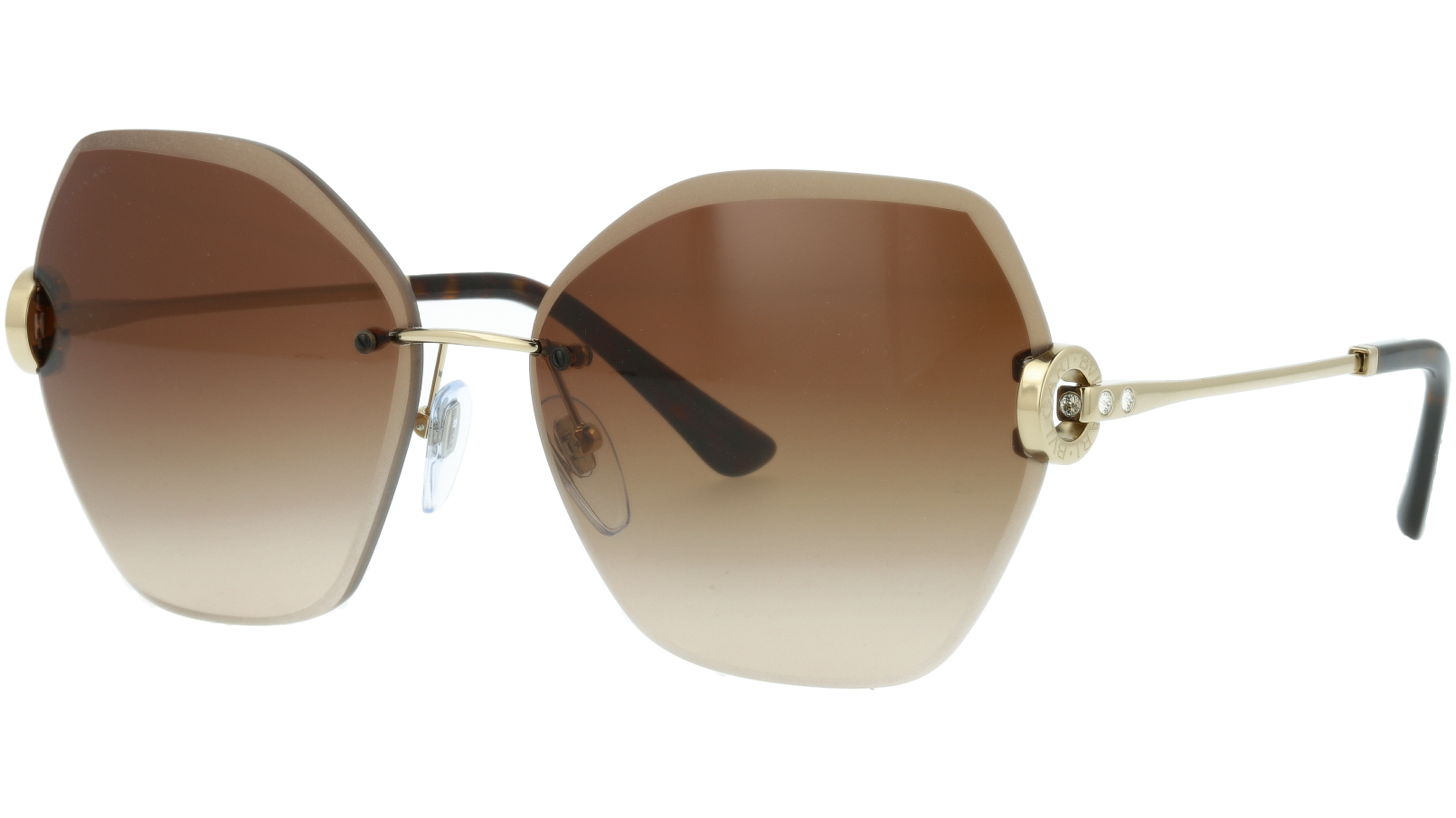 BVLGARI BV6105B 278/13 62 BROWN Sunglasses