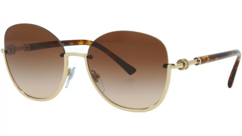 Bvlgari BV6123 278/13 56 Brown Sunglasses