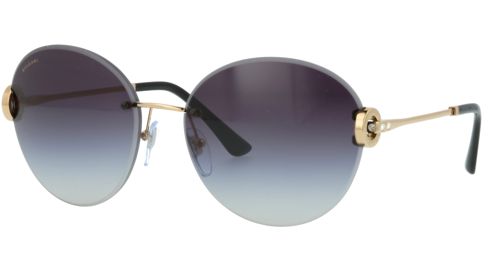 BVLGARI BV6091B 20148G 61 GREY Sunglasses