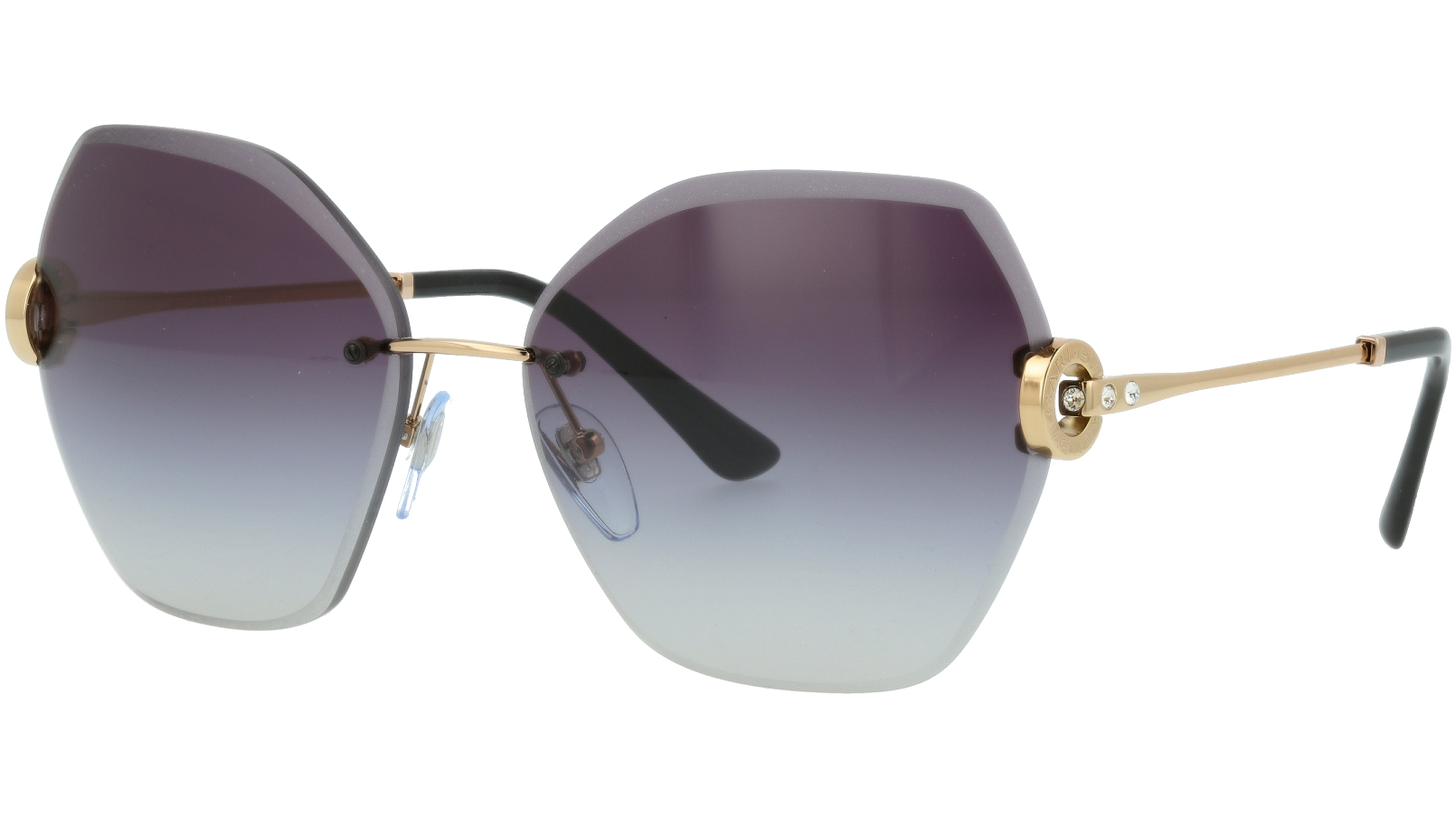BVLGARI BV6105B 20148G 62 GREY Sunglasses