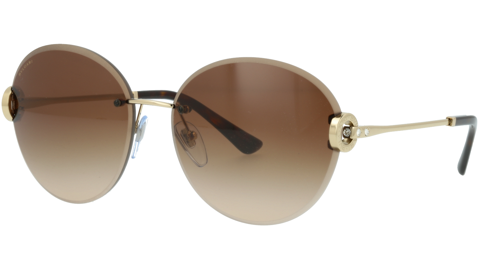 BVLGARI BV6091B 278/13 61 BROWN Sunglasses