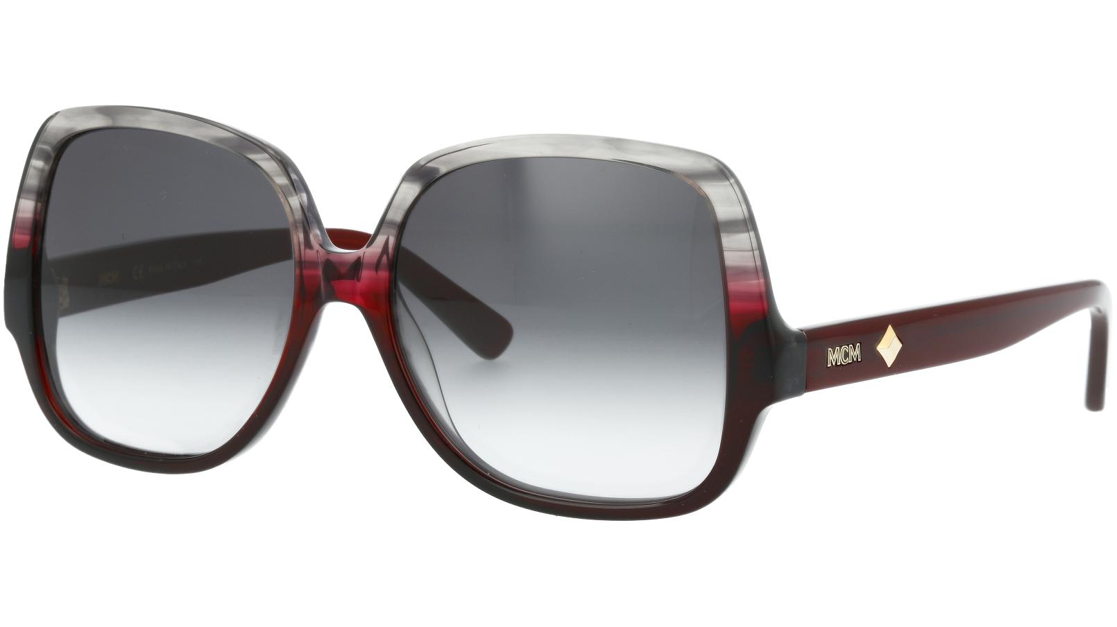 MCM MCM614S 026 58 STRIPED Sunglasses