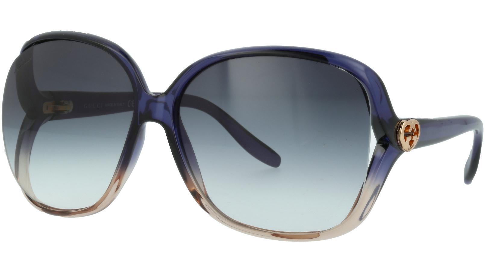 GUCCI GG3500S WNTUA 60 PURPLE Sunglasses