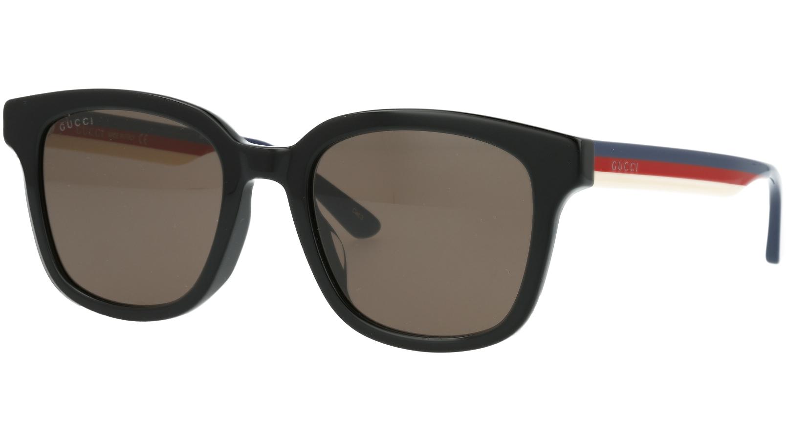 Gucci GG0847SK 002 53 Black Square Sunglasses